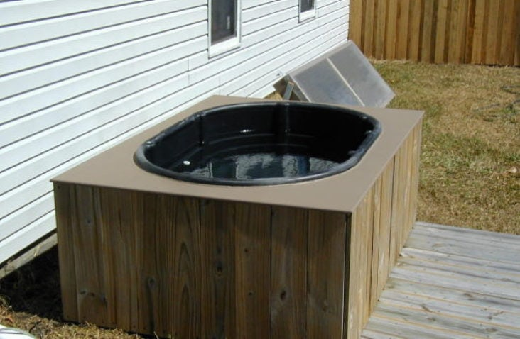 Diy Jacuzzi Bathtub.25 Great Diy Hot Tub Ideas You Have To Try