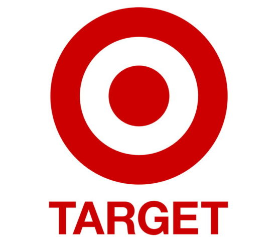 Target logo in white background