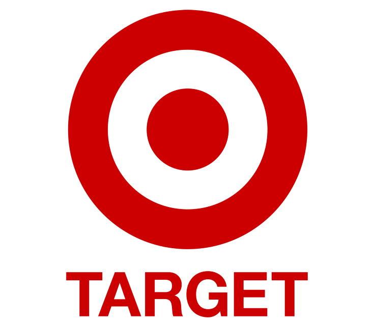 Target logo in white background