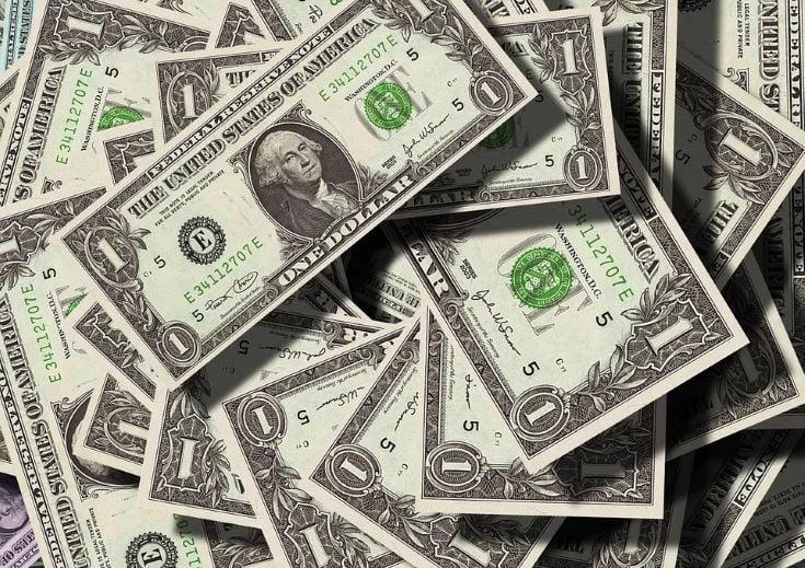 1 dollar bills
