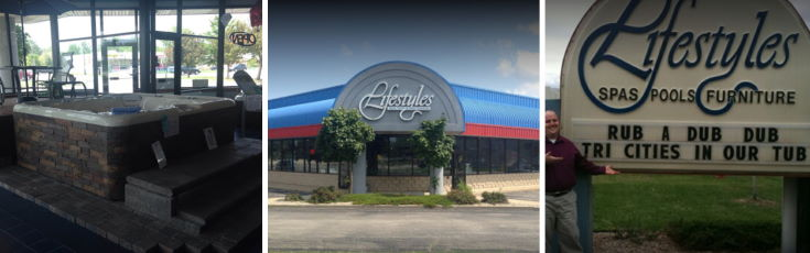 Lifestyles Hot Tubs store