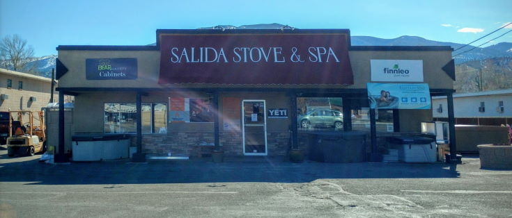 Salida Stove Spa store