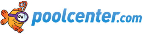 Pool Center logo in white background