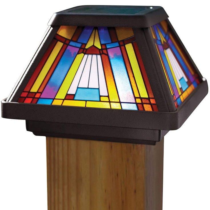Moonrays Post Cap Lamp