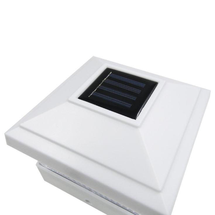 iGlow Solar LED Post Deck Cap