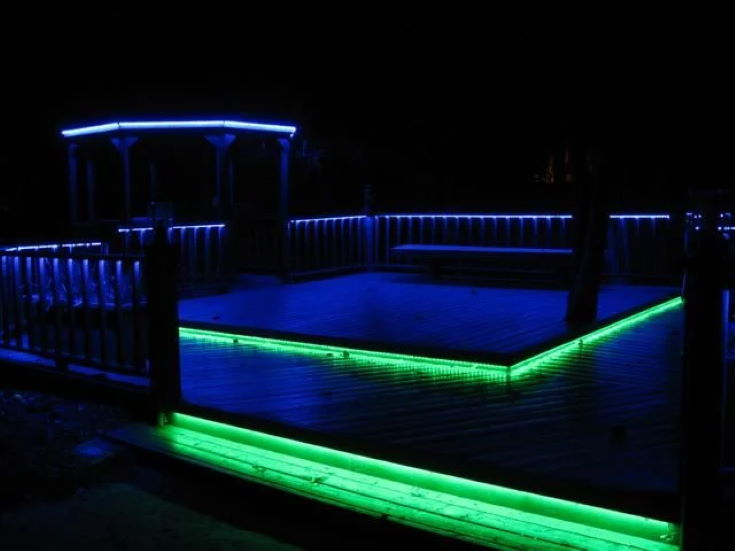 LED Deck Lighting- in Color
