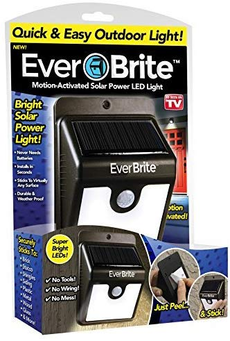 Ever Brite Solar Light package.