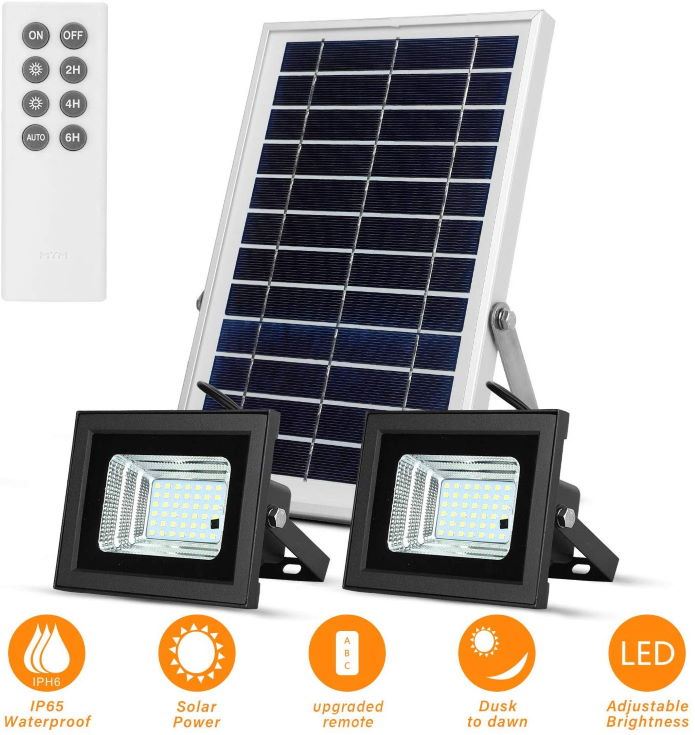 Richarm Dual Solar Remote Lights