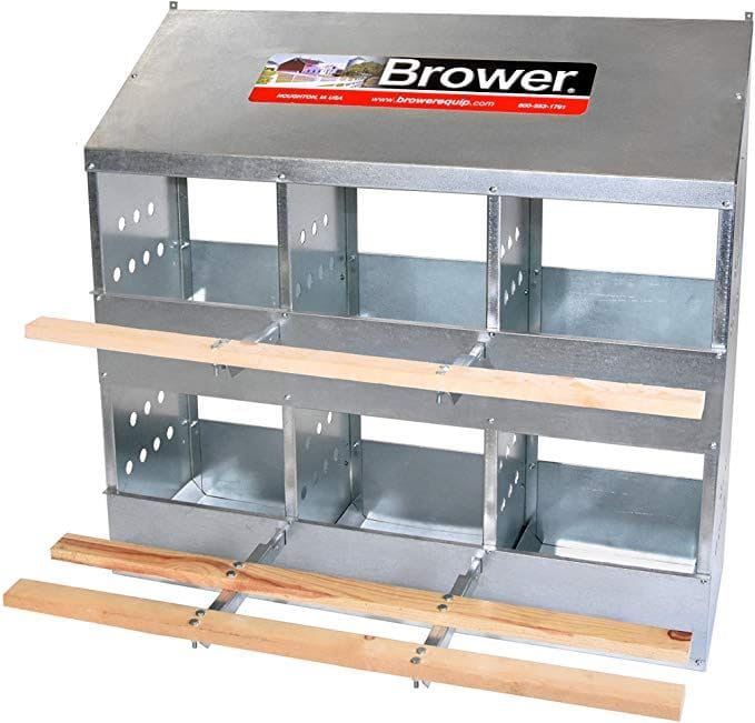 Brower 406B 6-Hole Poultry Nest