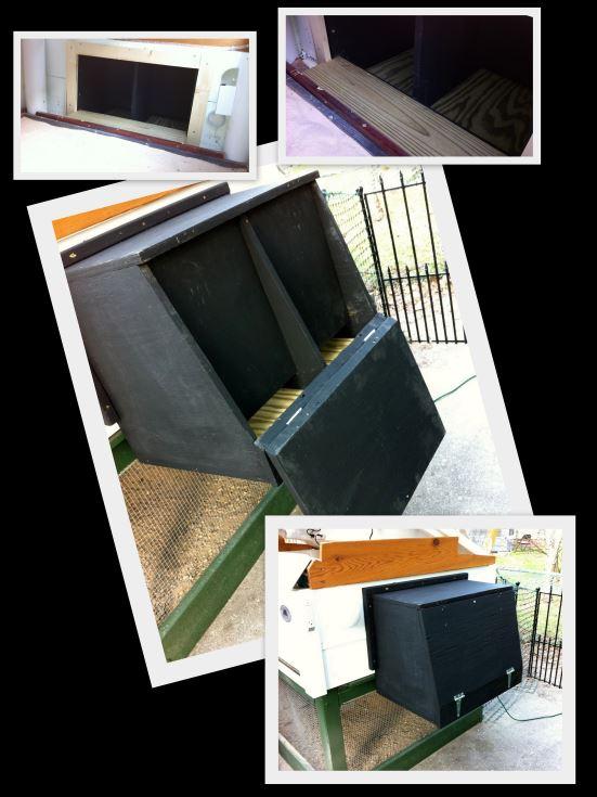 black Nesting Box