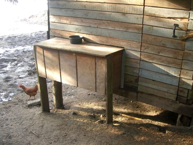 Wooden Nesting Boxes, chicken