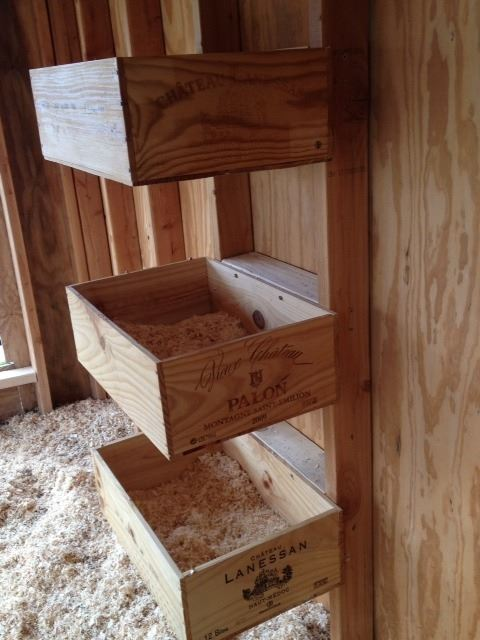 wooden Liquor-Box Nesting Spaces