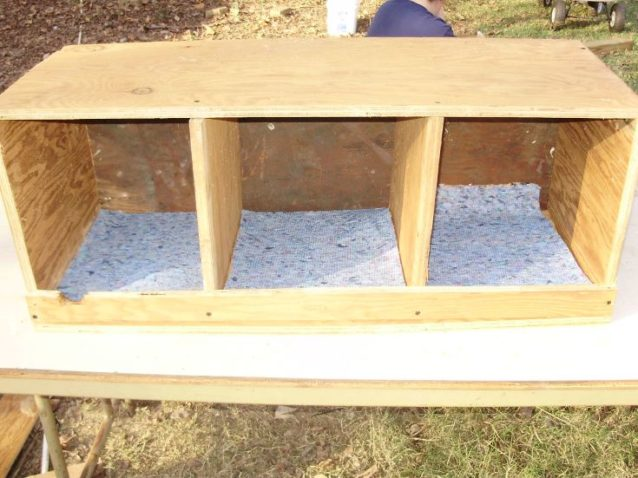 wooden Nesting Box Plans