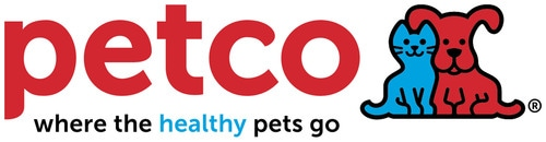 Petco logo isolated in white background