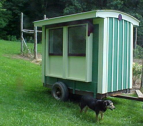 Blueridges Chicken Coop Tractor