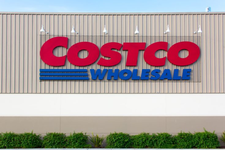 SAND CITY, CA/USA - APRIL 23, 2014: Costco Wholesale store exterior