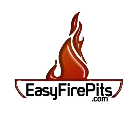 Easy Fire Pits logo in white background