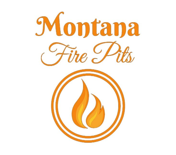 Montana-Fire-Pits logo in white background