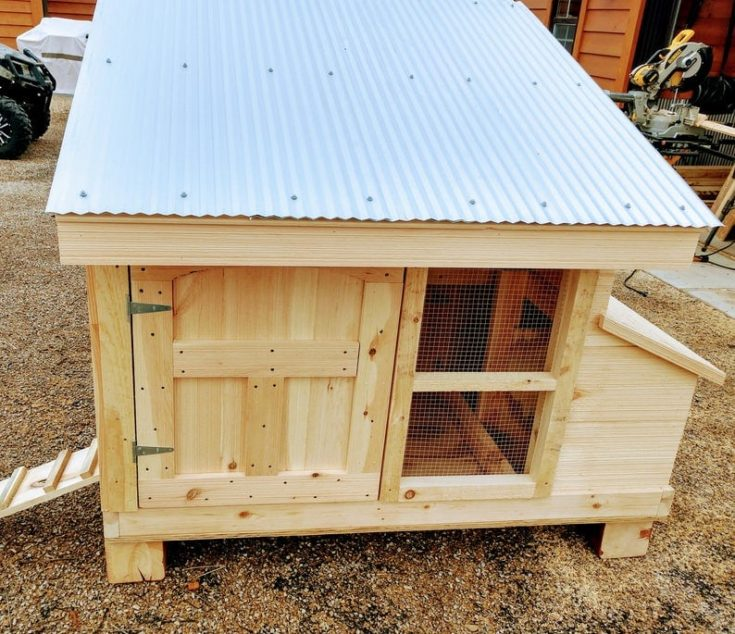 DIY Chicken Coop Plans for small flock