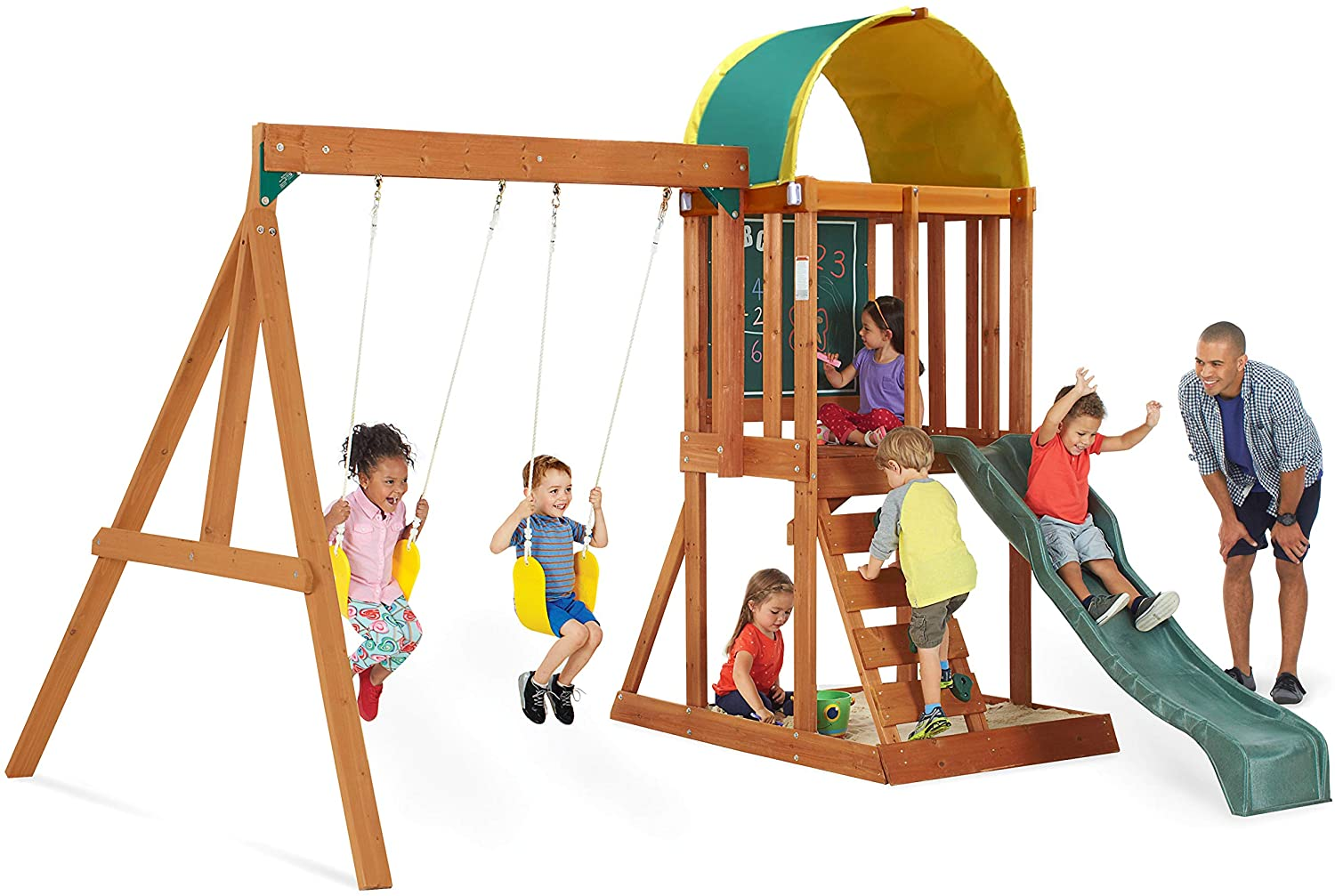 The Best Little Backyard Playsets For Small Lawns Patios