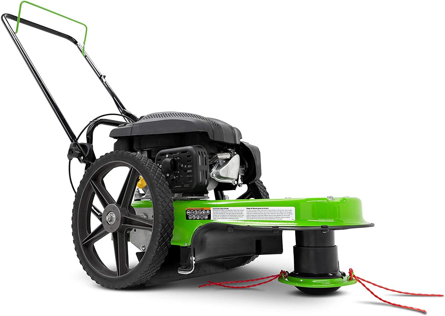 Tazz 35258 Walk-Behind String Trimmer and Mower