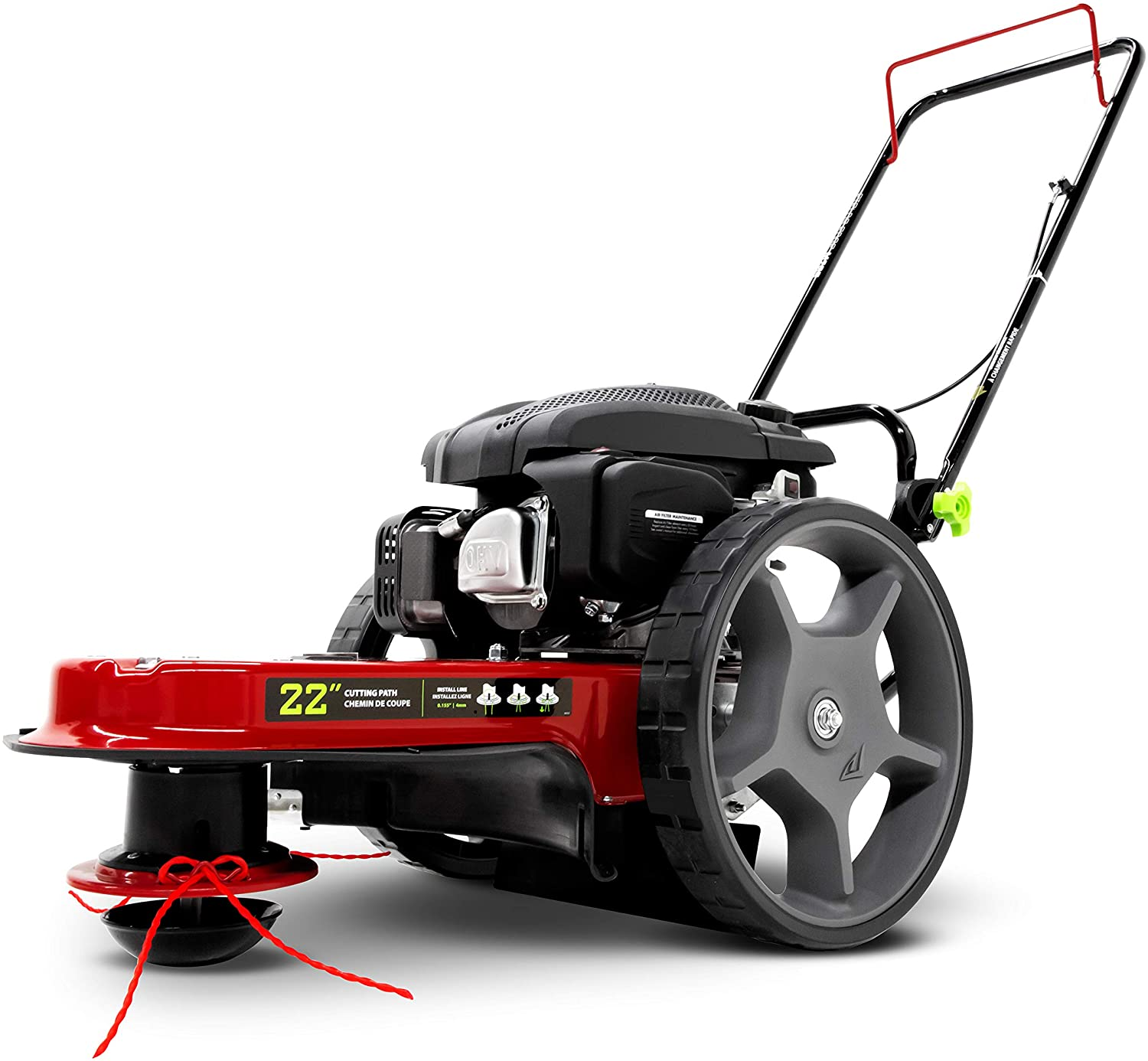 Earthquake 28463 M205 Walk Behind Trimmer and Mower