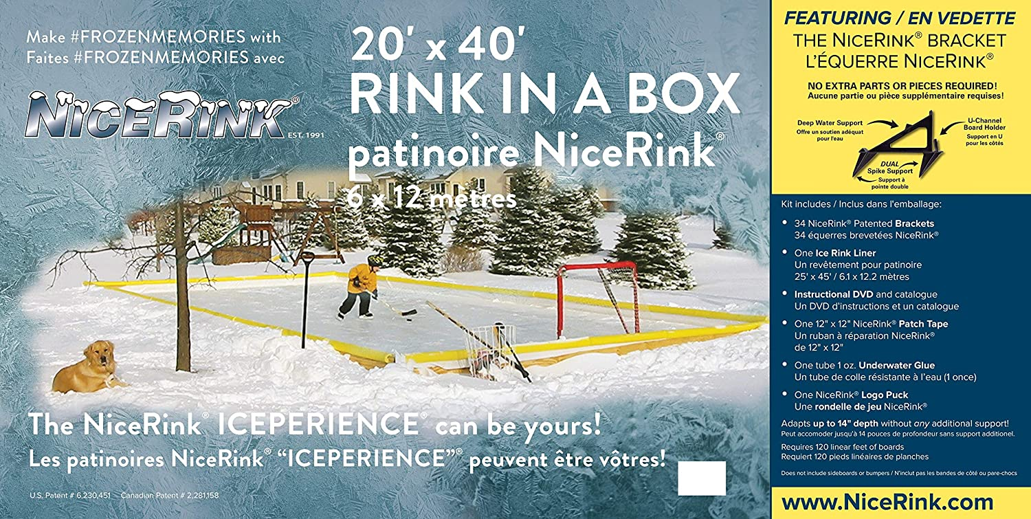 The Best Backyard Ice Rink Kits — Our 2020 Reviews