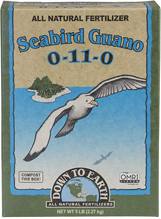 Down to Earth All Natural Seabird Guano Fertilizer Mix