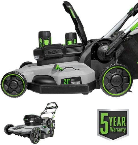 EGO Power+ LM2142SP 21-Inch Walk Behind - The Best Cordless Electric Lawn Mowers for Your Yard