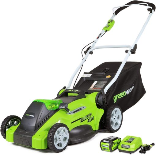 Greenworks G-Max 40V 16-Inch Cordless Lawn Mower - The Best Cordless Electric Lawn Mowers for Your Yard