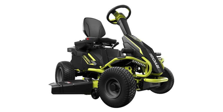 Ryobi 38-Inch 100 Ah Battery Electric Riding Mower - Best Electric Riding Lawn Mowers