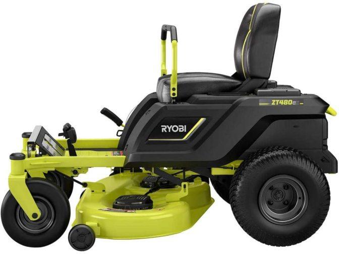 Ryobi 42-Inch 100 Ah Battery Electric Zero Turn Mower - Best Electric Riding Lawn Mowers