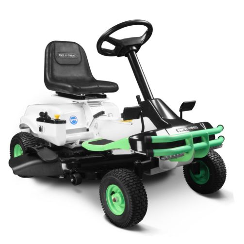 Weibang E-Rider 30-Inch 72V Electric Riding Mower - Best Electric Riding Lawn Mowers