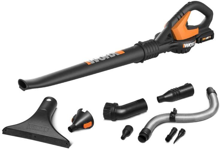 Worx WG545.1 20V MAX Lithium Cordless Lawn Sweeper