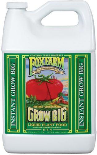 FoxFarm Grow Big Soil Liquid Concentrate Fertilizer