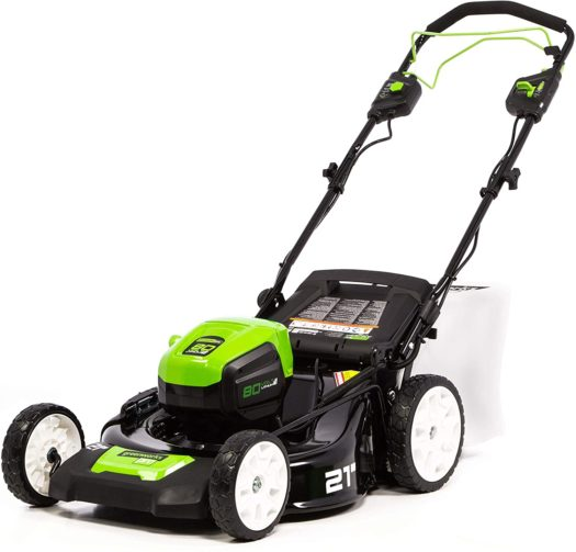 Greenworks Pro 80V Self-Proelled Cordless Lawn Mower - The Best Self-Propelled Lawn Mowers in 2021