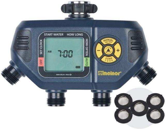 Melnor 65036 AquaTimer 4-Zone Water Timer