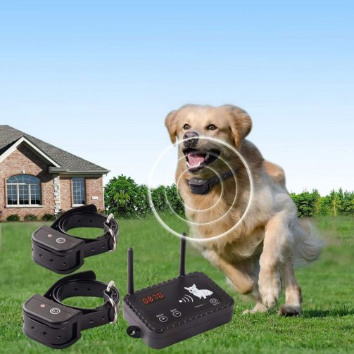 JUSTPET Wireless Pet Fence Dog Container