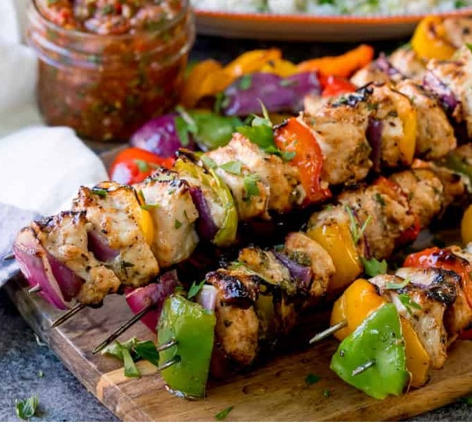 mexican chicken skewers kitchen sanctuary