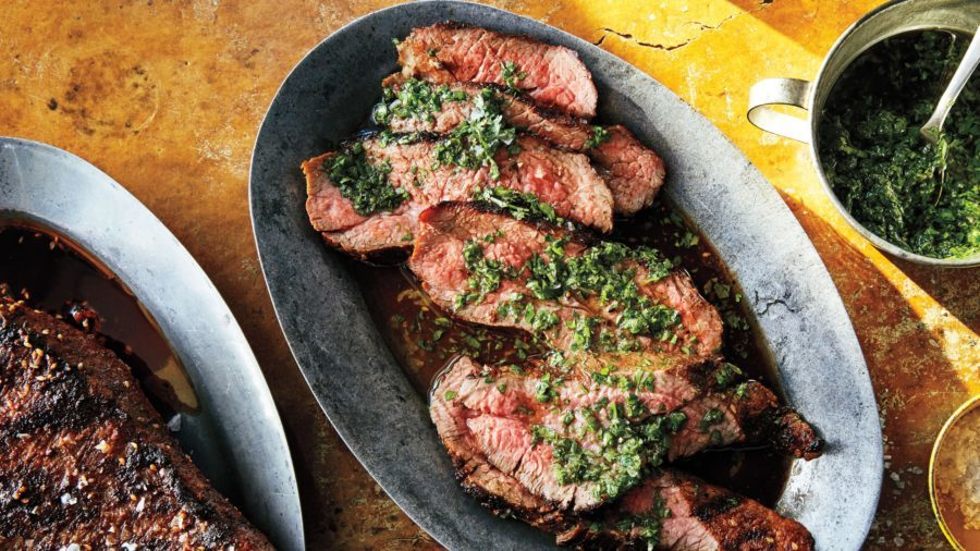 tri tip with chimichurri recipe winter grill