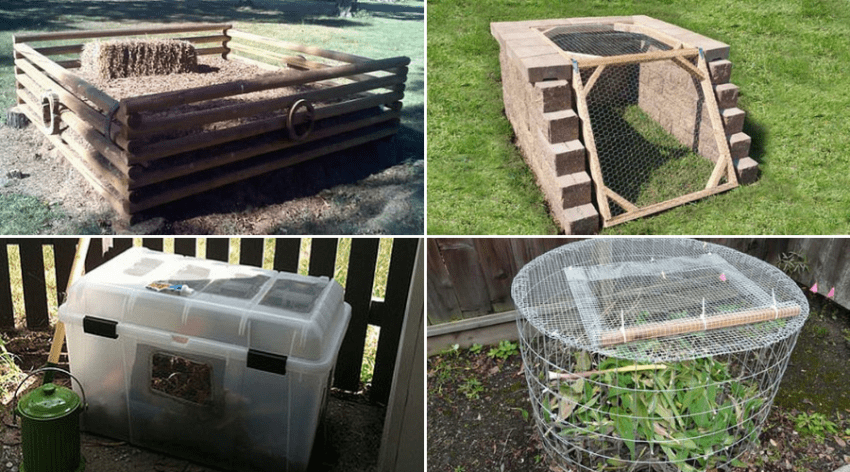 Featured Image - DIY COMPOST BIN IDEAS YOU'LL WANT TO GET TO WORK ON NOW