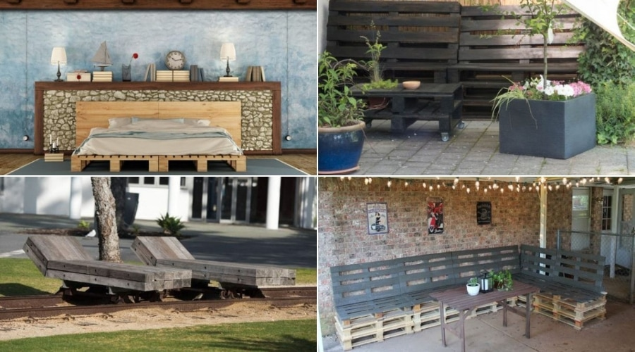 Featured Image - DIY PALLET GARDEN AND FURNITURE IDEAS