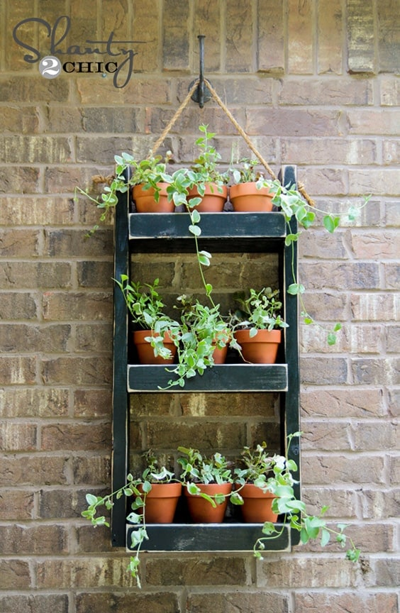 Wood Planter for the Wall