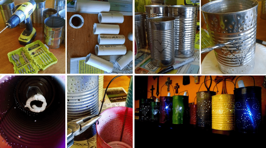 Featured Image - HOW TO MAKE TIN CAN SOLAR LIGHTS