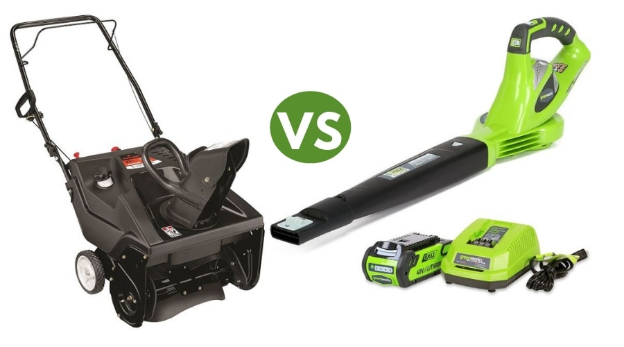 Featured Image - SNOW BLOWERS VS LEAF BLOWERS_ CLEAR SNOW THE EASY WAY