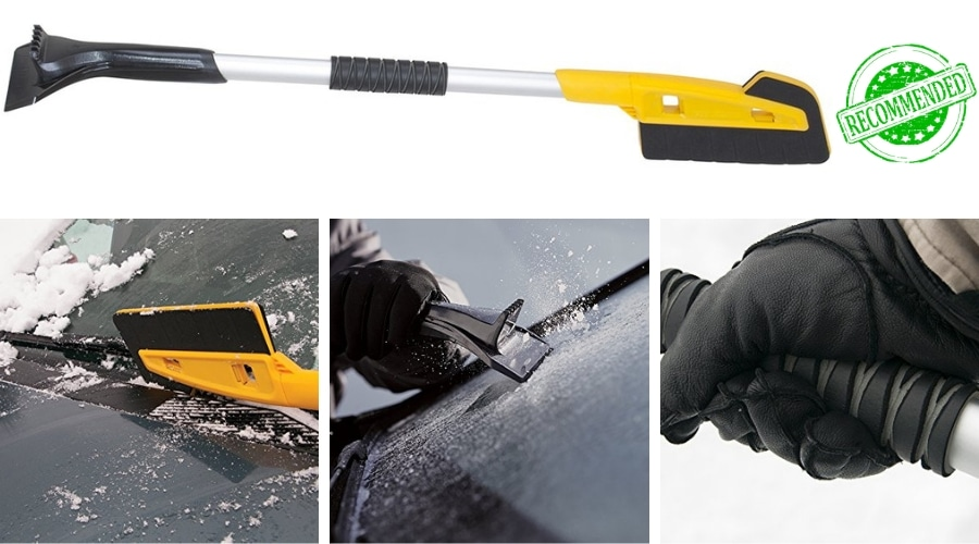 Featured Image - TRUE TEMPER 36-INCH SCRATCH FREE SNOW BRUSH REVIEW
