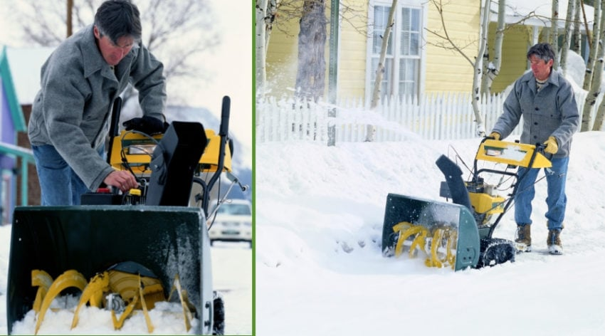Featured Image - WHAT TO DO WHEN YOUR SNOW BLOWER WON'T START