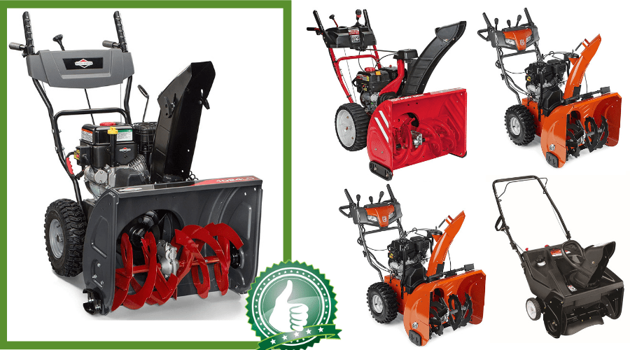 Featured Image - BEST GAS SNOW BLOWER REVIEWS