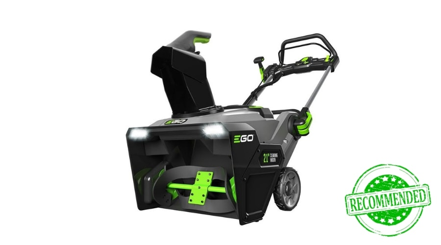 Featured Image - EGO POWER + SNOW BLOWER SNT2100 REVIEW