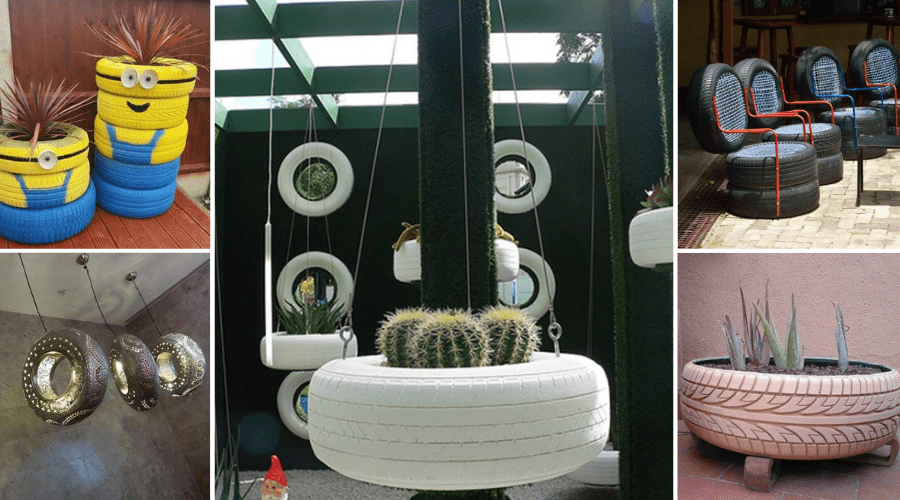 Featured Image - CHEAP AND CREATIVE WAYS TO REPURPOSE OLD TIRES
